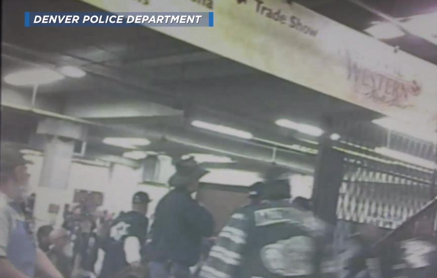 DENVER POLICE BIKER VIDEO