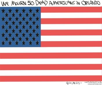 50 DEAD AMERICANS FLAG
