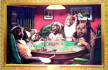 Dogs Playing Poker copy
