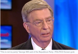 GEORGE WILL QUITS GOP