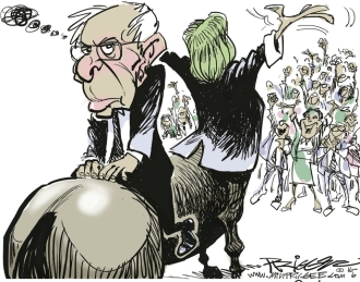 BACKWARD BERNIE
