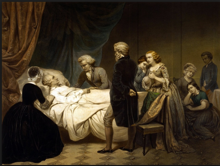 DEATHBED OLD STYLE