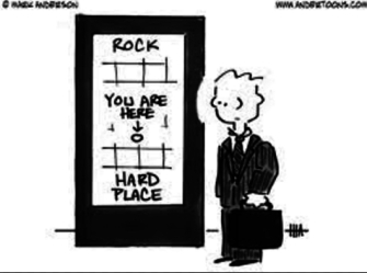 YOU ARE HERE ROCK HARDPLACE