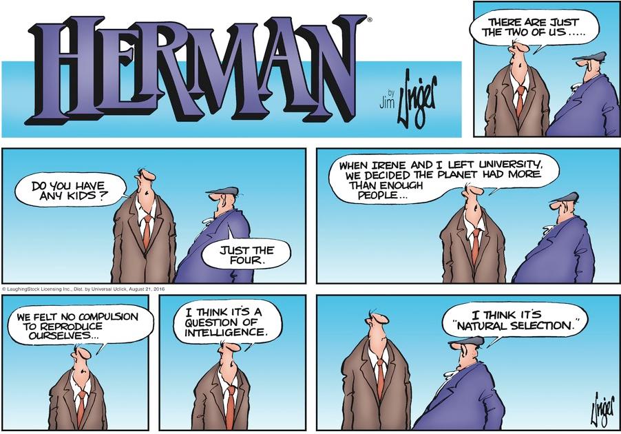 HERMAN COMIC