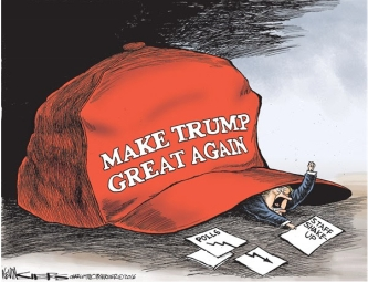 MAKE TRUMP AGAIN RED HAT