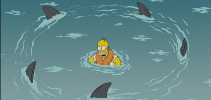 homer-simpson-and-sharks