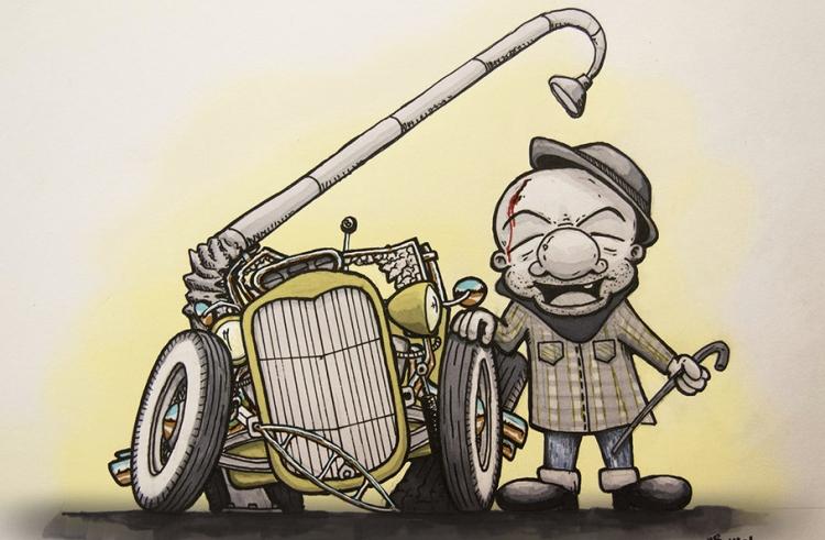 magoo-crash-car